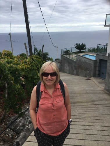 Out for a walk above Calheta